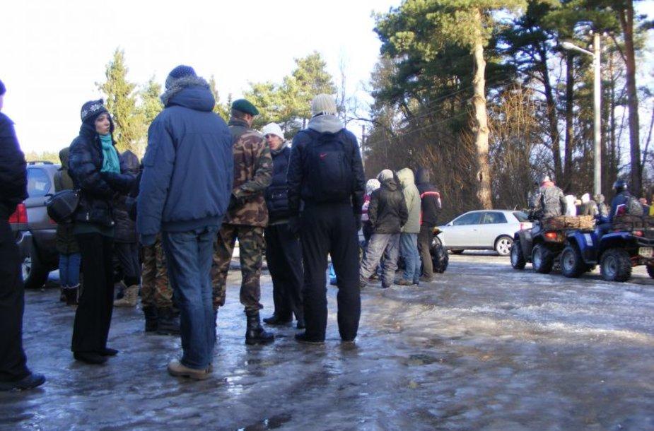 Sekmadienį surengta dar viena paieška. Šįkart ieškota ne tik Gabijos, bet ir Skirmantės pėdsakų