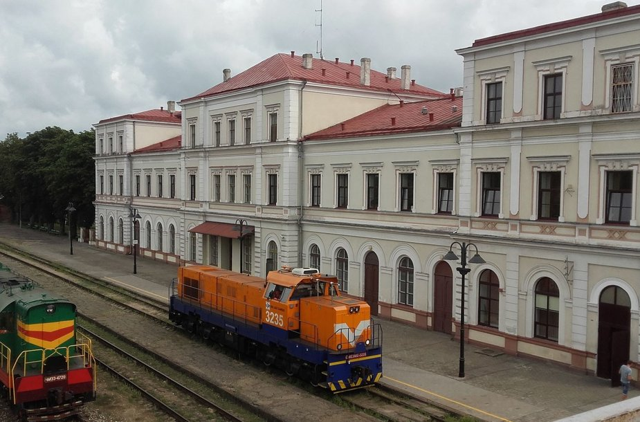 Liepojos traukinių stotis