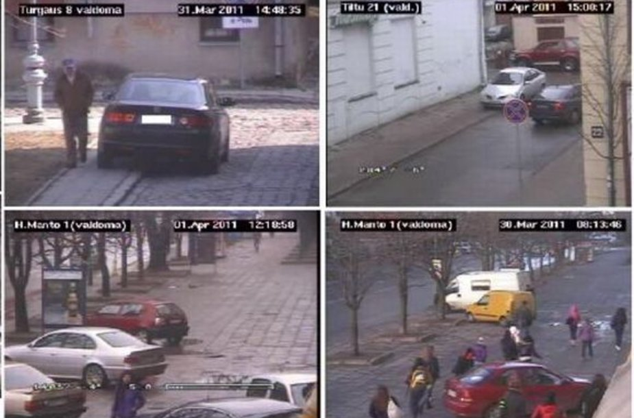 Vaizdo stebėjimo kamerų operatoriai kasdien Patrulių rinktinės pareigūnams perduoda vaizdo įrašus administracinei teisenai dėl pažeidimų pradėti.