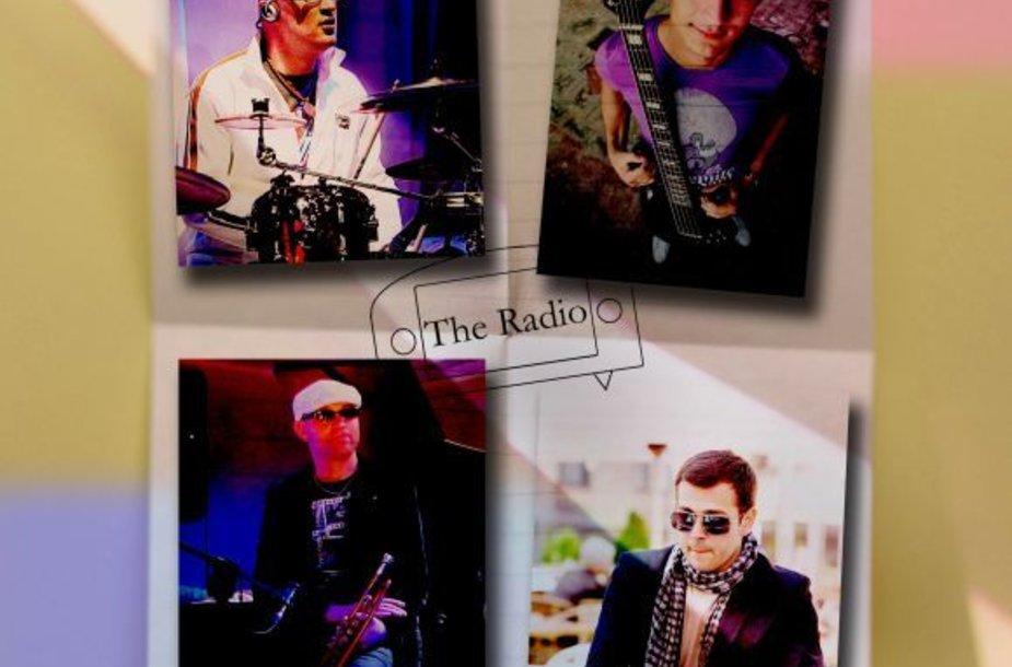 """Trečiadienį džiazuos latviai """"The Radio""""."""