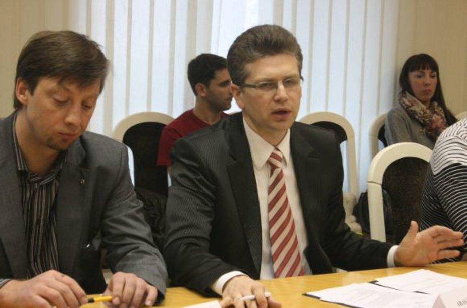 Anot Aro Mileškos (centre) finansavus kai kurias priemones, miesto biudžetas išlaidas jau po kelerių metų susigrąžintų.