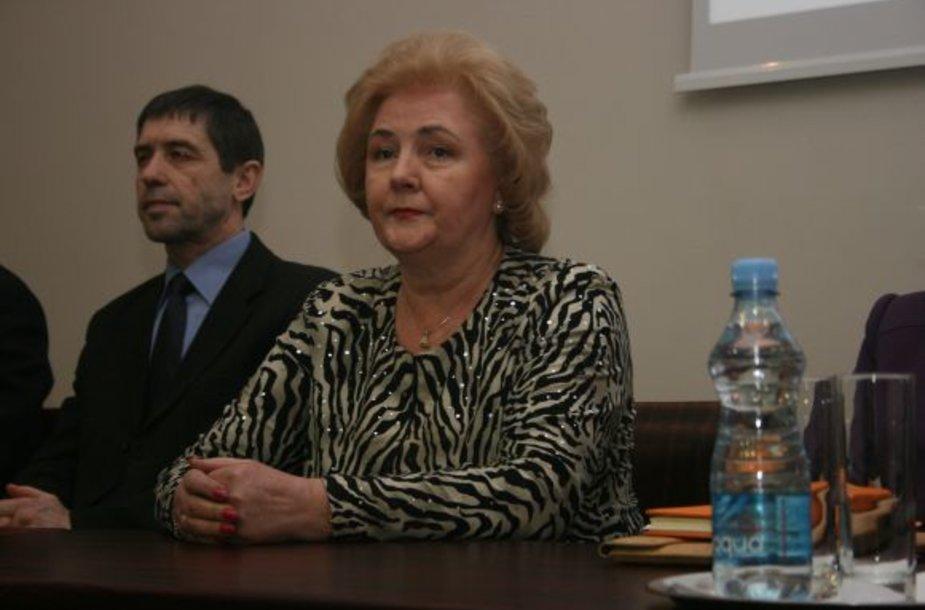 Kristina Brazauskienė antradienio vakarą naująją partiją pristatė klaipėdiečiams. Deja, bet paklausyti jos atėjo vos keliasdešimt žmonių.