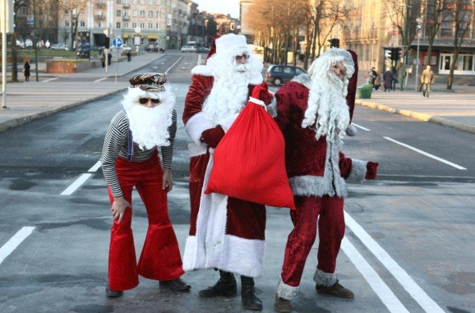 Gausių šeimų vaikus aplankys Kalėdų senelis.