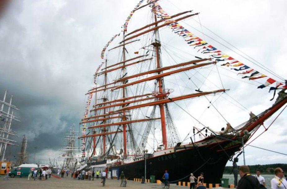 """Regatą """"The Tall Ships Races"""" pamatė per 1,2 mln. žmonių."""