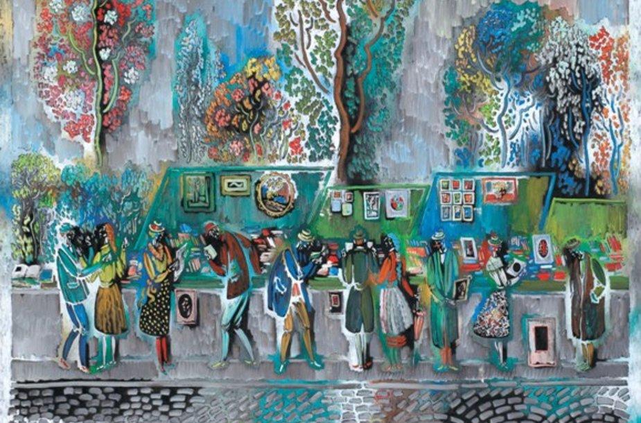 V.Kasiulio kūriniai bus eksponuojami Klaipėdoje.