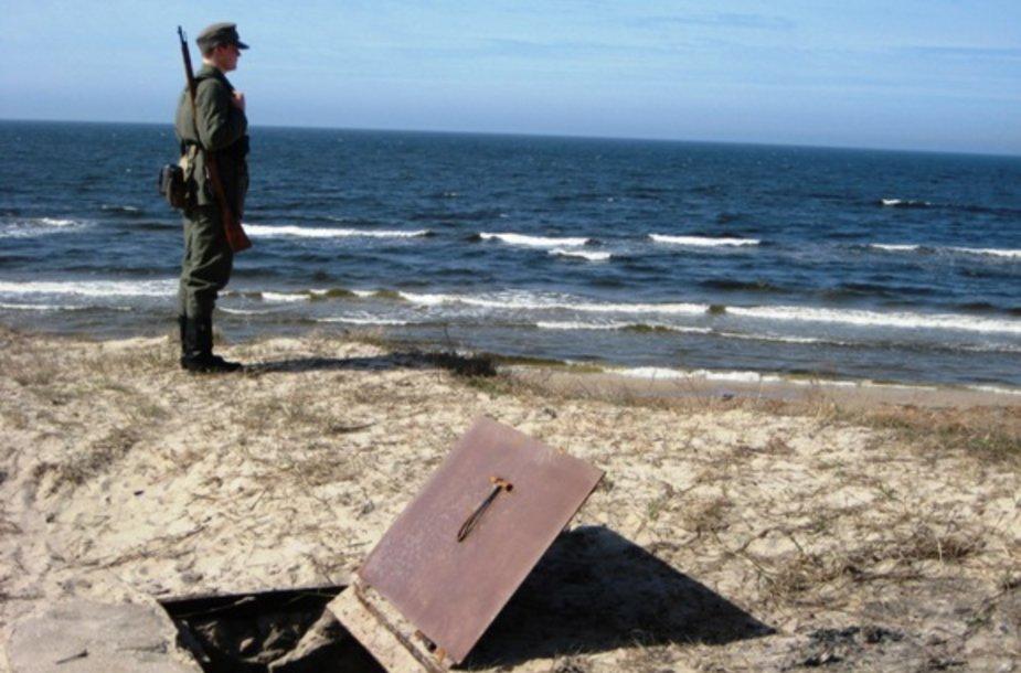 Talkininkai Giruliuose šeštadienį galėjo išvysti II pasaulinio karo laikų uniforma apsirėdžiusius karius.
