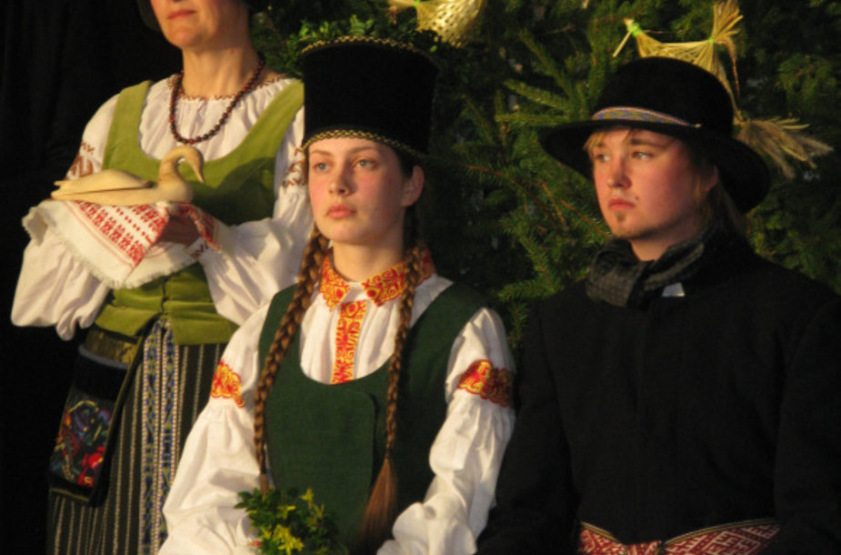 Koncertų salėje penktadienio vakarą šels tradicinės lietuvininkų vestuvės.