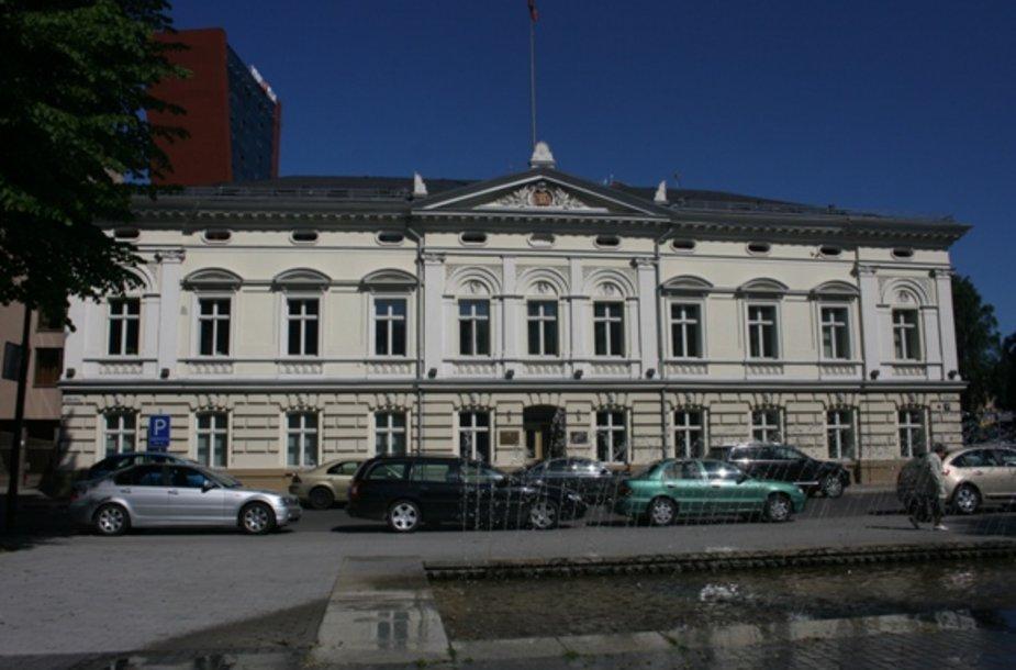 Klaipėdos apskrities viršininko administracija įsikūrusi buvusioje rotušėje.