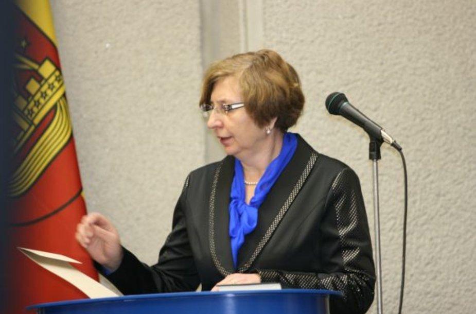 J.Simonavičiūtė - naujoji Klaipėdos miesto savivaldybės administracijos direktorė.