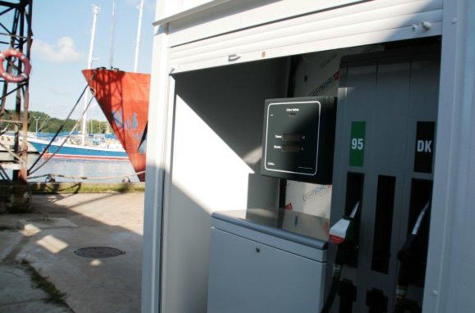 Klaipėdos Pilies uoste atsirado nauja kolonėlė.