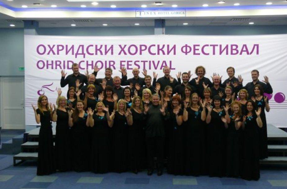 Klaipėdiečiai puikiai pasirodė konkurse Makedonijoje.