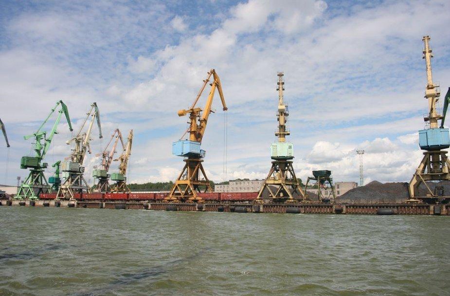 Klaipėdos uoste šiais metais krovos apimtys mažėjo, palyginus su praėjusių metų tuo pačiu laikotarpiu.