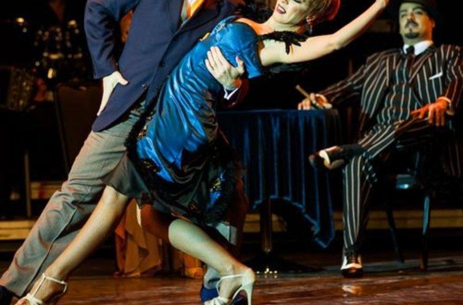 """""""Tango Pasion"""" pasirodymas Lietuvoje"""