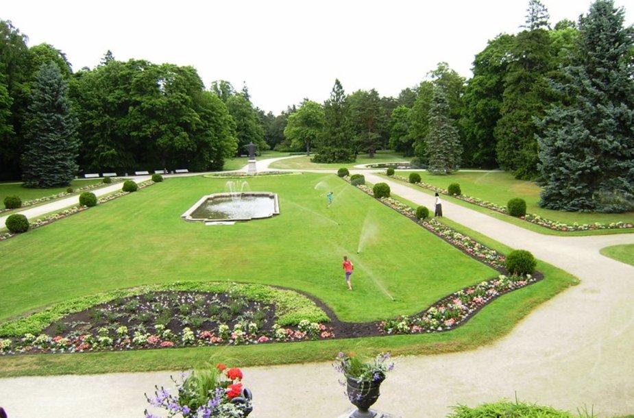 Birutės parkas bus dar labiau gražinamas.