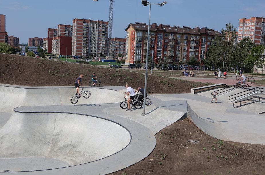 Savaitgalį Klaipėdoje vyks ekstremalių sporto šakų - riedlenčių ir BMX dviračių čempionatas.