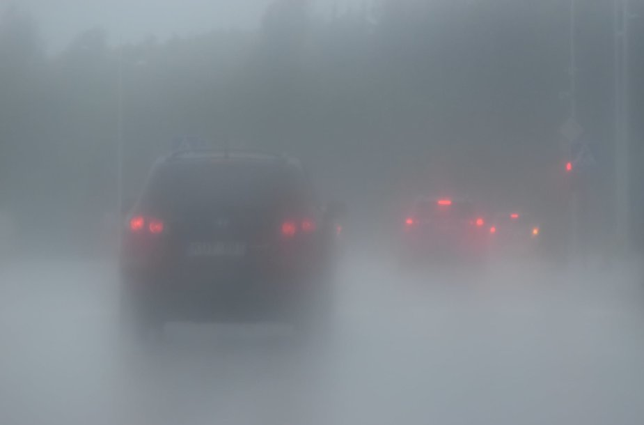 Audringas oras Klaipėdoje
