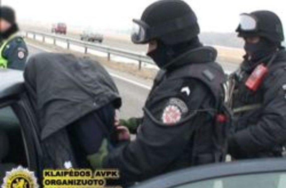 Klaipėdos policija sulaikė įtariamuosius sukčiavimu.