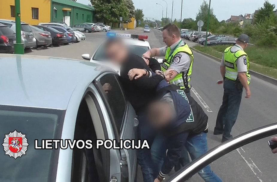 Sulaikytas nepilnamečių berniukų tvirkinimu įtariamas klaipėdietis.