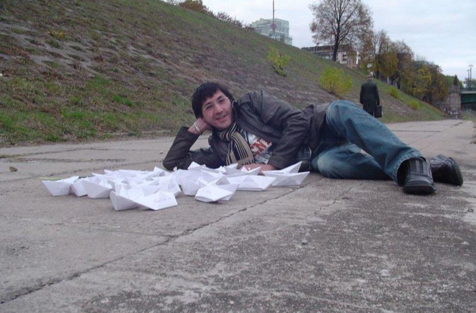 Foto naujienai: Antonijus Kesada-Ortizas pamiršo mokyklos laikus