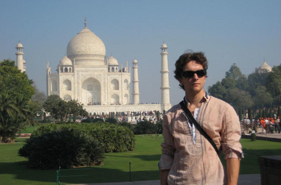 Foto naujienai: Robertas Kupstas: įspūdžiai iš Indijos