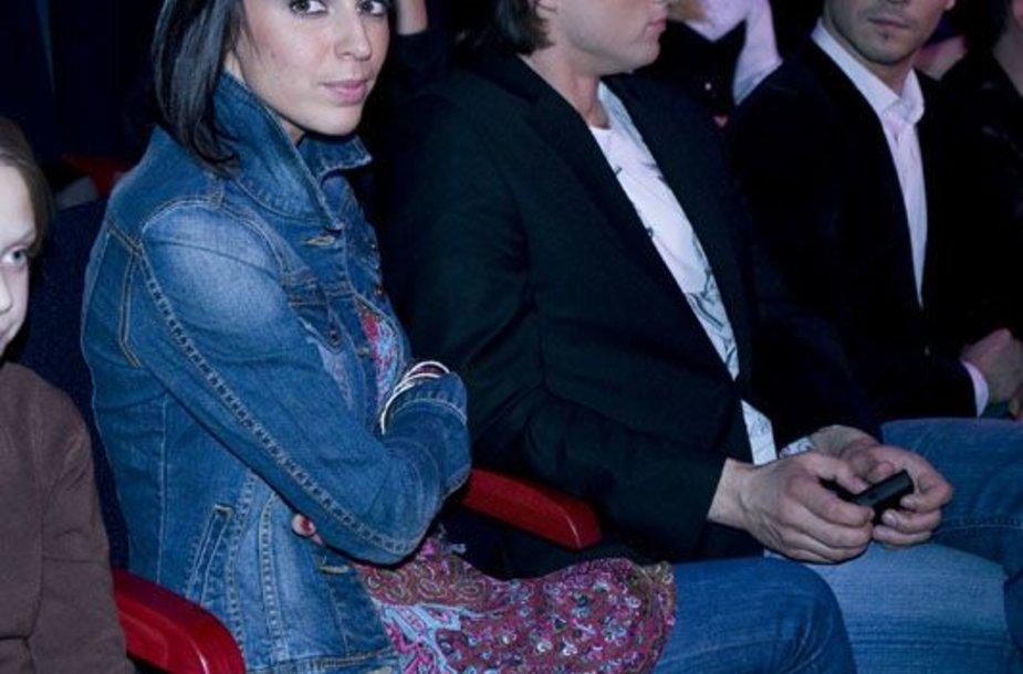 Foto naujienai: Oksana Zlatkovaitė: kuriam priklauso jos širdis?