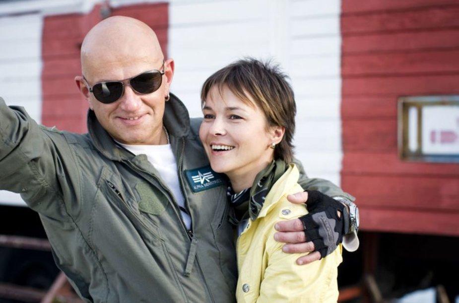 Foto naujienai: Gintaras ir Audrė Kudabos: nebenorime dirbti dviese