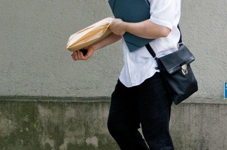 Foto naujienai: Audrius Giržadas: duona kasdieninė
