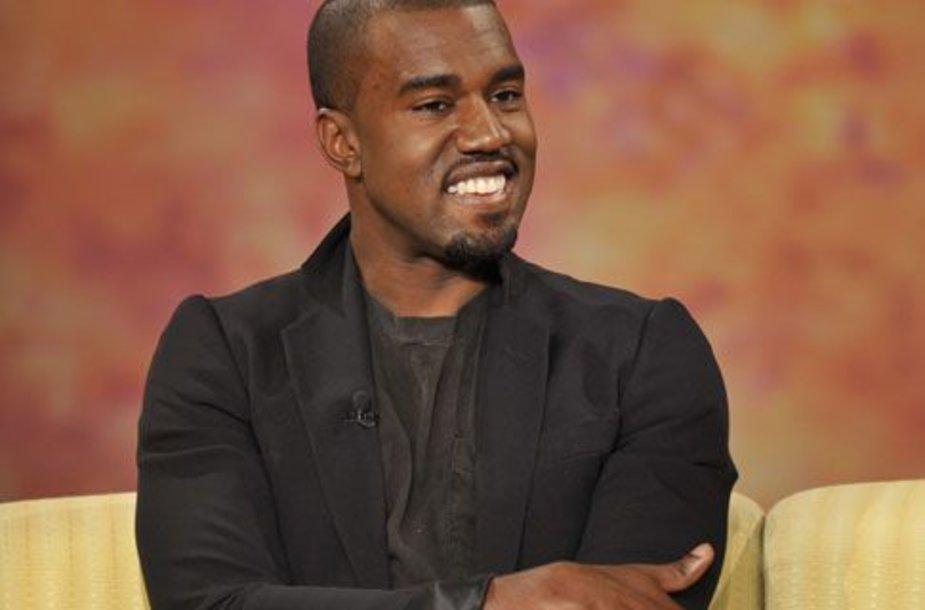 Foto naujienai: Kanye Westas: aš – naujasis muzikos karalius!