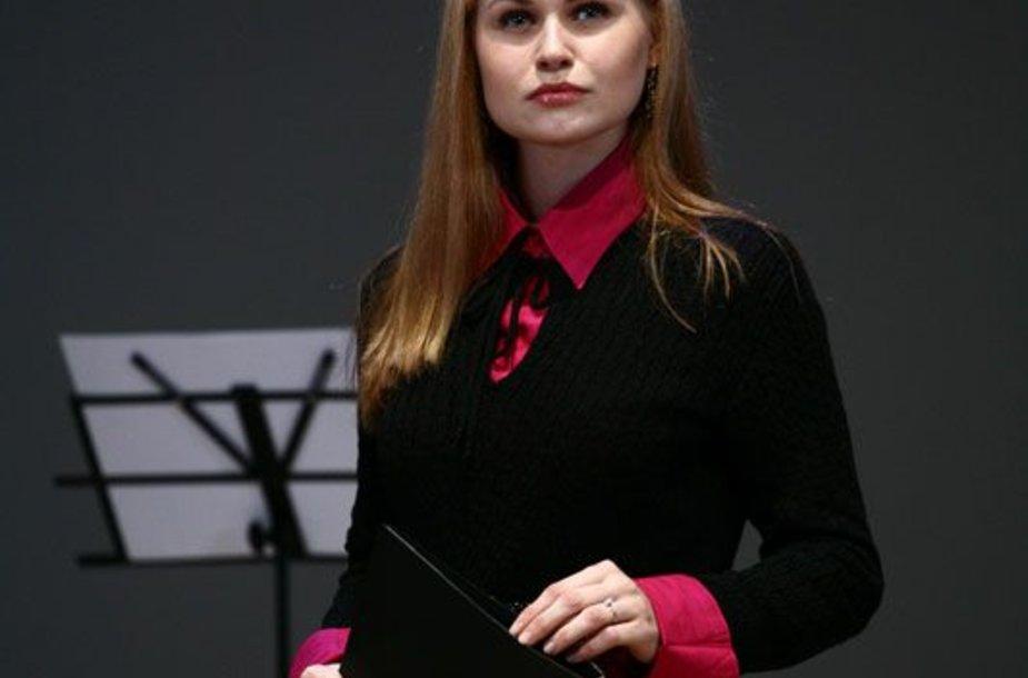 """Foto naujienai: """"Triumfo arkos"""" dalyvė Ona Kolobovaitė: """"Nemėgstu melo, netikrumo"""""""