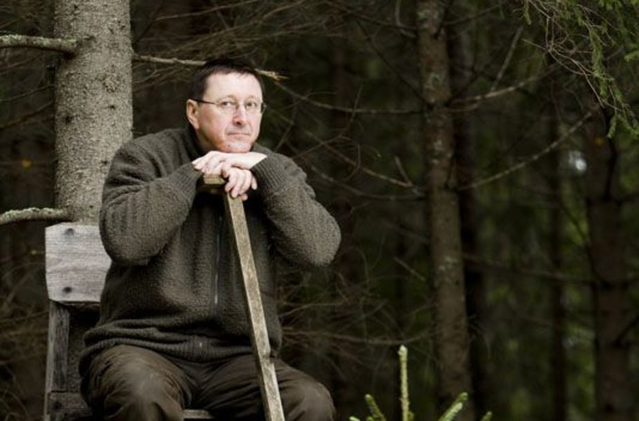 Foto naujienai: Vytautas Šerėnas: gyvenimas – be lentynėlių