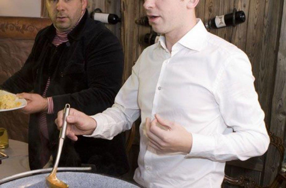 Foto naujienai: Egidijus Dragūnas negali įpirkti Mios