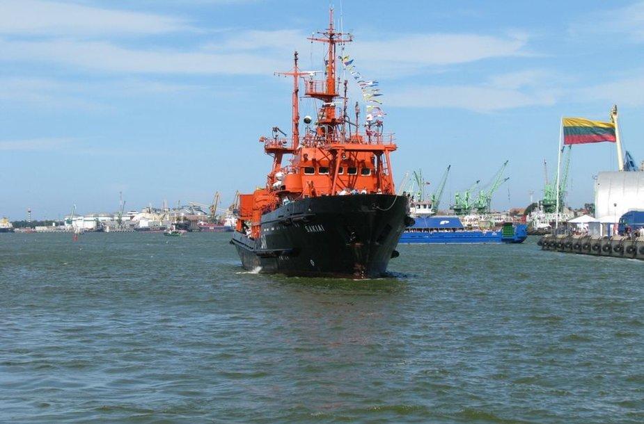 """Pagalbos ir gelbėjimo laivas """"Šakiai"""""""