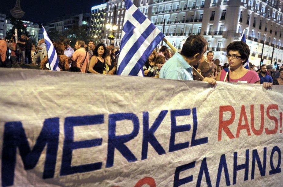 Demonstracijos Graikijoje