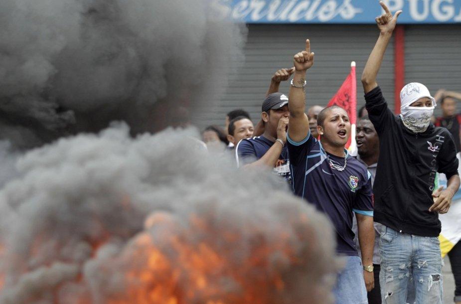 Protestai Panamoje