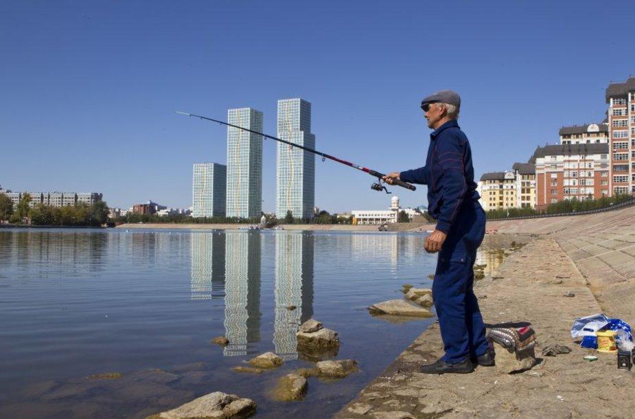 Kazachstanas baiminasi, kad Kinijai naudojant bendrus telkinius vandens resursai ženkliai sunyks.