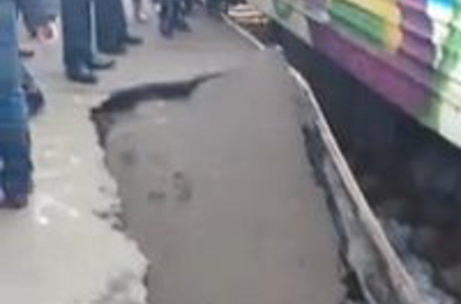 Incidentas Kijevo geležinkelio stotyje