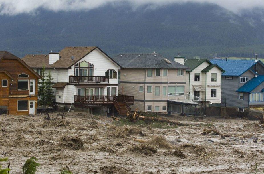 Potvynis Kanadoje