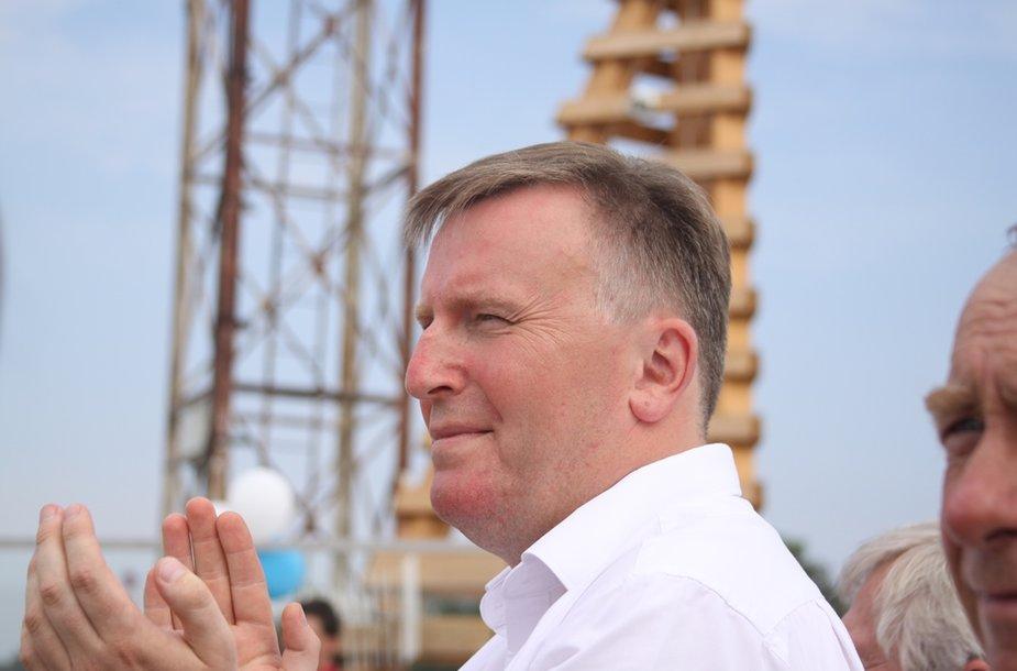 """Bendrovės """"Smiltynės perkėla"""" generalinis direktorius Darius Butvydas"""
