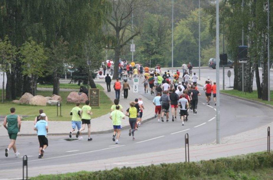 Vilniuje 6-ąjį kartą vyko tradicinis maratonas