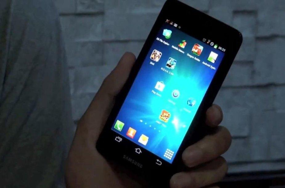 """Manoma, kad tai gali būti naujasis """"Samsung Galaxy S3"""""""