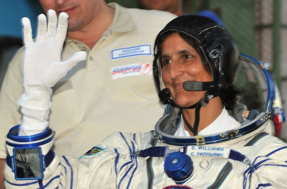 Astronautė Sunita Williams.