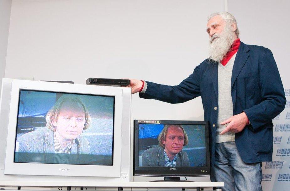 Skaitmeninės TV reklamos veidas Tautvydas dar ne visiems išaiškino, kas nutiks šį pirmadienį.
