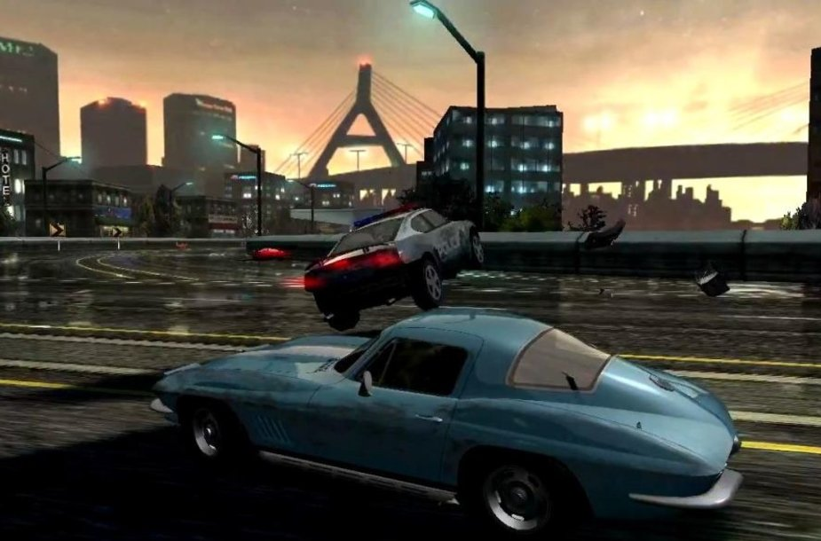 """Žaidimas """"Need For Speed Most Wanted"""""""