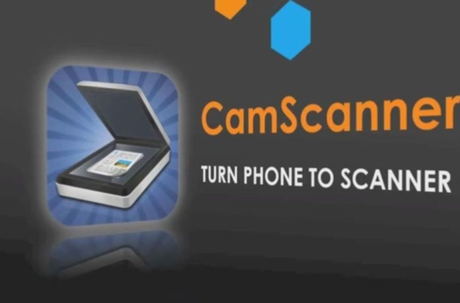 """Mobilioji aplikacija """"CamScanner"""""""