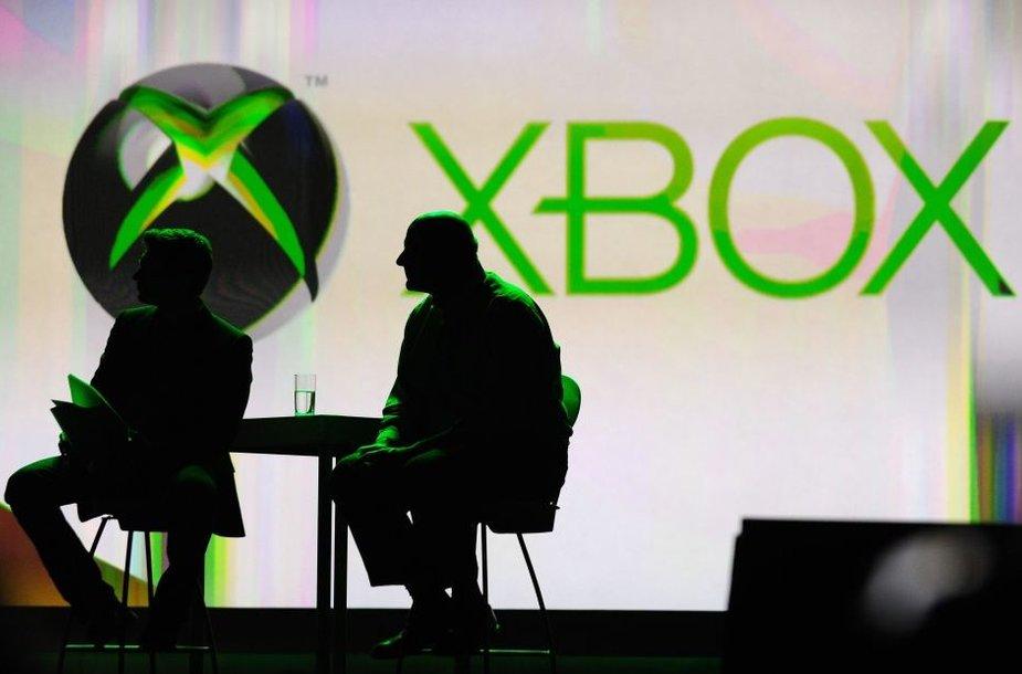 """Žaidimų konsolės """"Xbox"""" logotipas"""