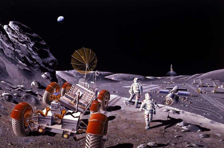 Mėnulio kolonizacija