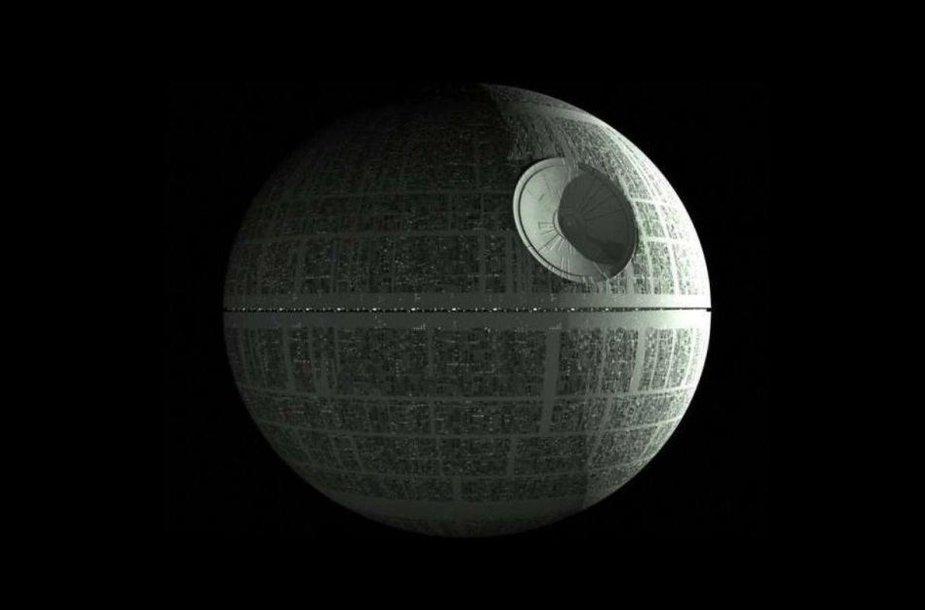 "Erdvėlaivis ""Death Star"""