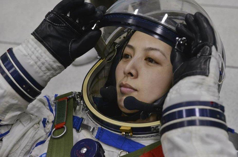 Kinijos astronautė Wang Yaping