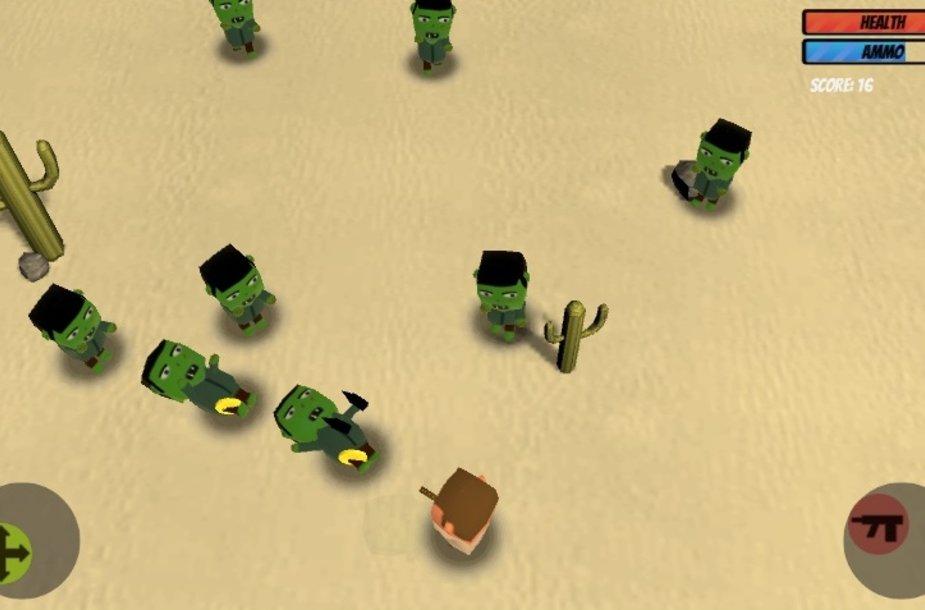 """Žaidimas """"Desert Zombies"""""""