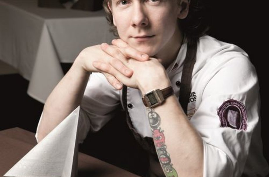 Virtuvės šefas Deivydas Praspaliauskas